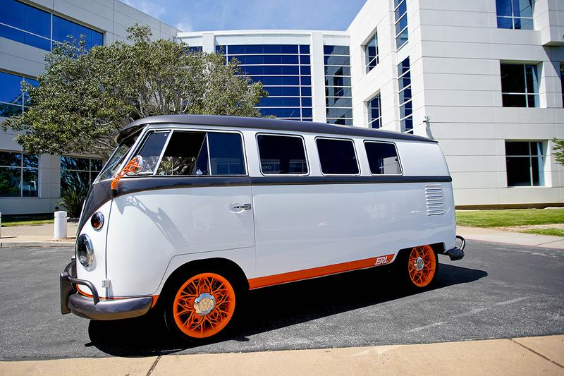 Volkswagen Type 20 Concept Microbus Electric Camper Van 1962 type 2 Eleven Window Remake Innovation and Engineering Centre California IECC VW Research Facility First Look Future 10 kWh battery 2,500-watt onboard charger 120 BHP 173 lb-ft torque
