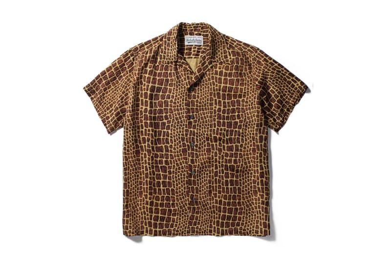 WACKO MARIA Spring Summer 2019 Hawaiian Shirts Kami Short Sleeve Button Ups Paradise Tokyo Guilty Parties crocodile tiger