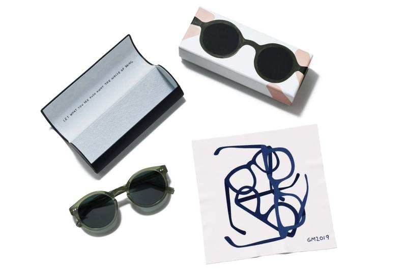Warby Parker Geoff McFetridge glasses collection collaboration Canada Rosemary Crystal Cacao Crystal Peppercorn Tortoise