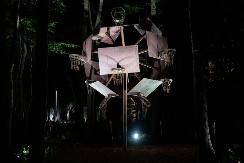 watermill center hamptons tabula rasa outdoor artwork installations sculptures new york sunshine humberto diaz maria louzou