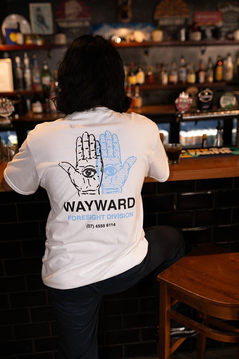 Wayward Wheels Graphic T-Shirt Release Info capsule collection streetwear fashion menswear womenswear workwear skateboarding lifestyle andrew brophy