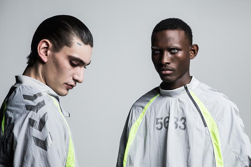 "Willy Chavarria x hummel Fall/Winter 2019 Capsule Collection ""#5683"" LOVE Connection Project Grey Silver Neon Yellow 3M Reflective Detailing Sports Clothing"