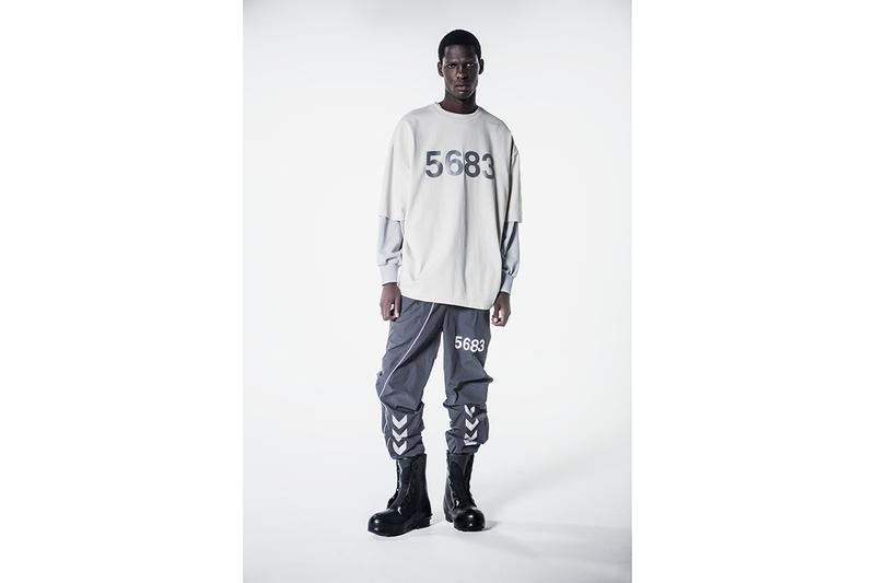 """Willy Chavarria x hummel Fall/Winter 2019 Capsule Collection """"#5683"""" LOVE Connection Project Grey Silver Neon Yellow 3M Reflective Detailing Sports Clothing"""