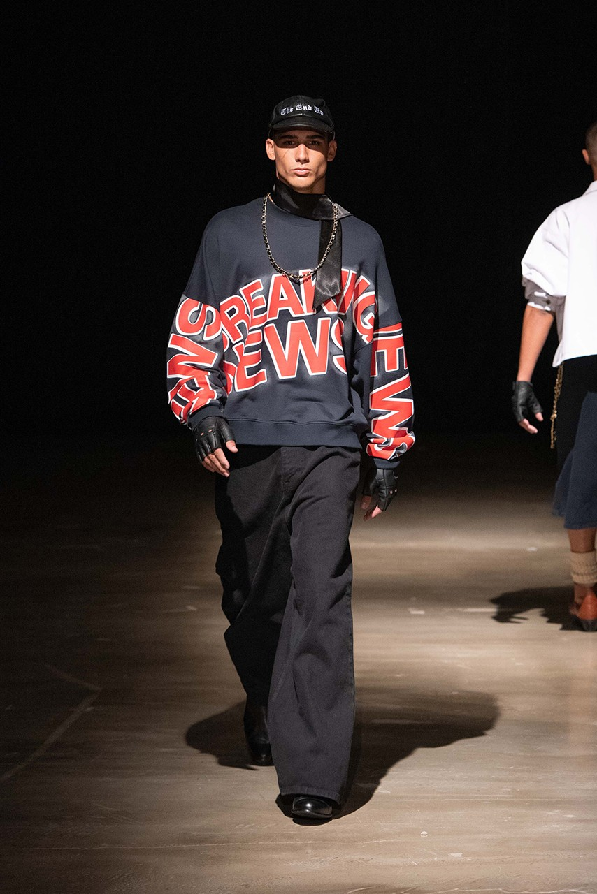 Willy Chavarria SS20 Runway Show K