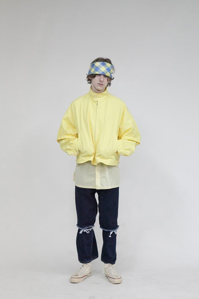wonderland Fall/Winter 2019 Lookbook Pants Sweatshirts Flannels Turtlenecks Jeans Jackets Plaid Blue Yellow Brown Green Orange Red Black