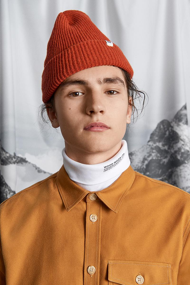 wood wood fall winter 2019 fw19 come down easy lookbook collection capsule buy cop purchase london store copenhagen denmark scandinavia