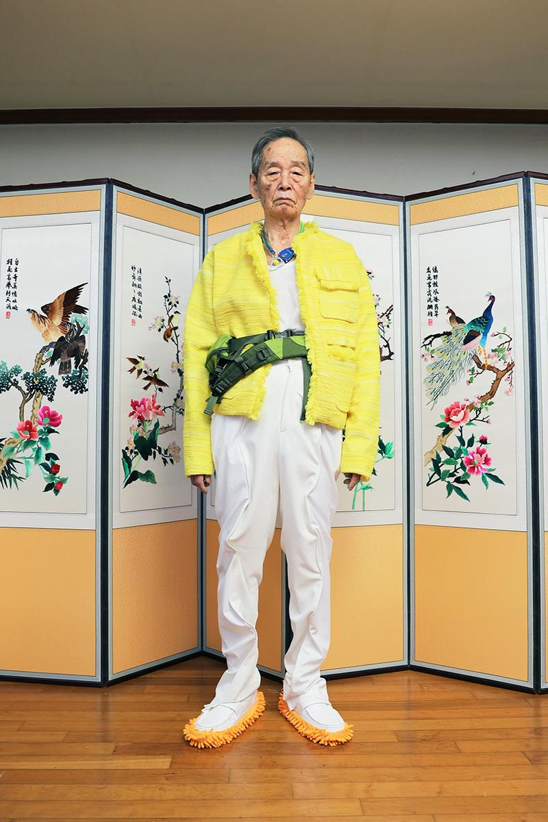 young n sang Spring Summer 2020 Campaign South Korea Lookbooks SS20 Traditional Inspired Clothing Floral Prints Garments Experimental Sustainability Helsinki Fashion Week Council of Fashion Designer of America (CFDA)