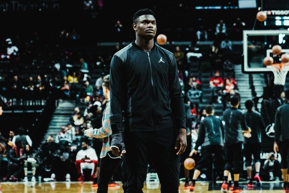 Recepción Potencial irregular  Zion Williamson x Jordan Brand Sneaker Deal Contract | HYPEBEAST