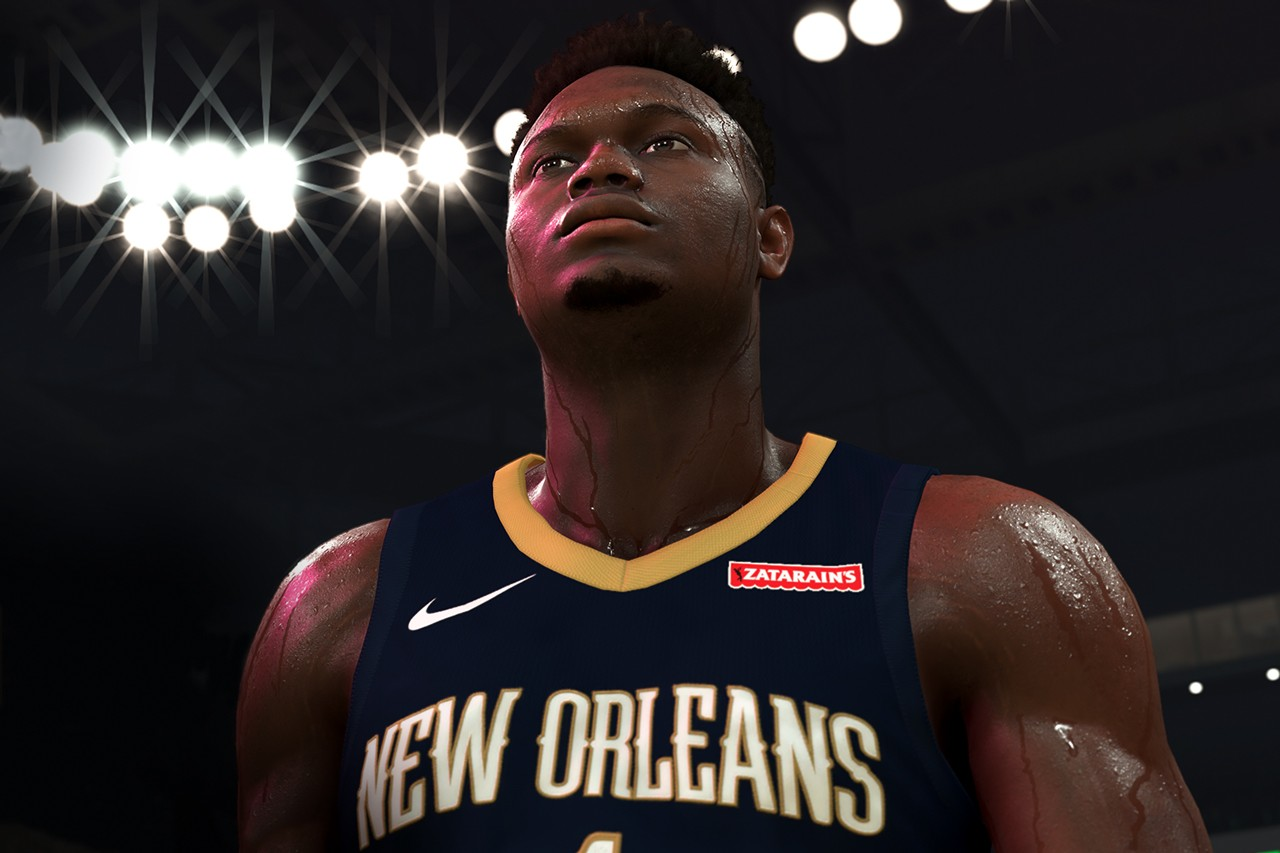 Zion Williamson Signs Exclusive NBA 2k20 Deal partnership contract game september 2019 6 video game new orleans pelicans