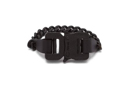 1017 ALYX 9SM's Buckle Chainlink Bracelet Receives a Sleek Makeover