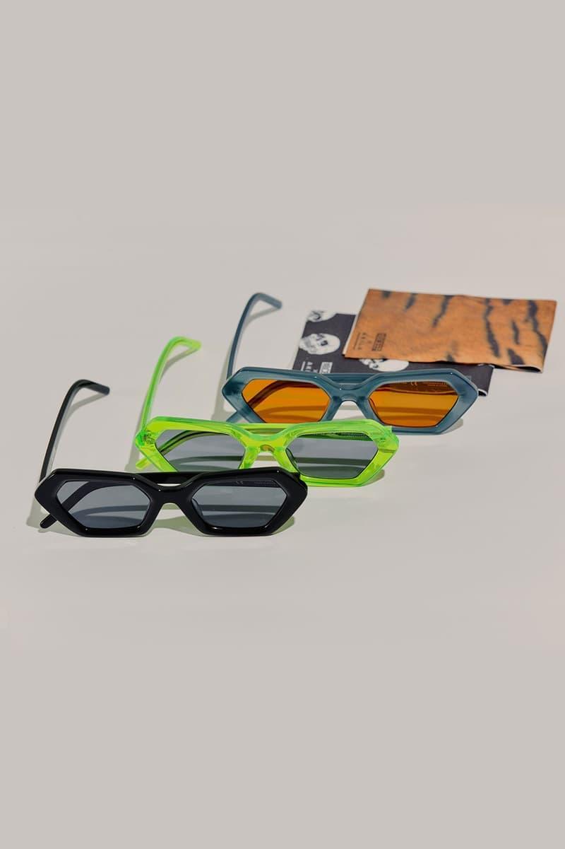 10.Deep Akila Geometric 720º Sunglasses FW19 Acetate