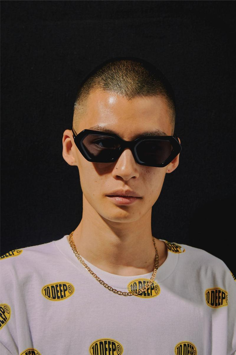 10.Deep Akila Geometric 720º Sunglasses FW19 Acetate