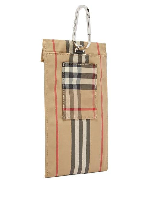 Burberry Heritage Stripe Canvas Phone Pouch release where to buy price 2019