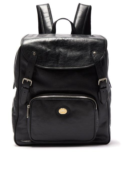 GUCCI  Black Morpheus Leather Backpack release where to buy price 2019