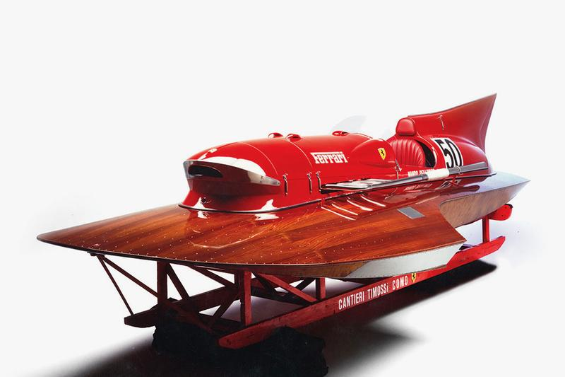 1952 Ferrari Arno XI Racing Boat duPont Registry Sale world speed record breaker vintage design 550 horsepower 150 mph