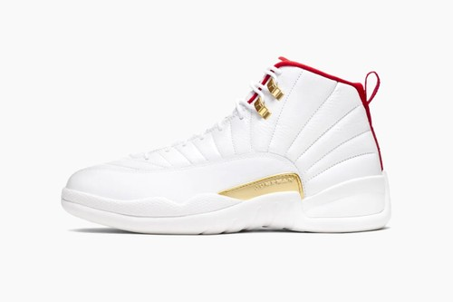 "Air Jordan 12 ""White/University Red"""
