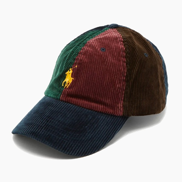 Polo Ralph Lauren Logo-Embroidered Corduroy Baseball Cap