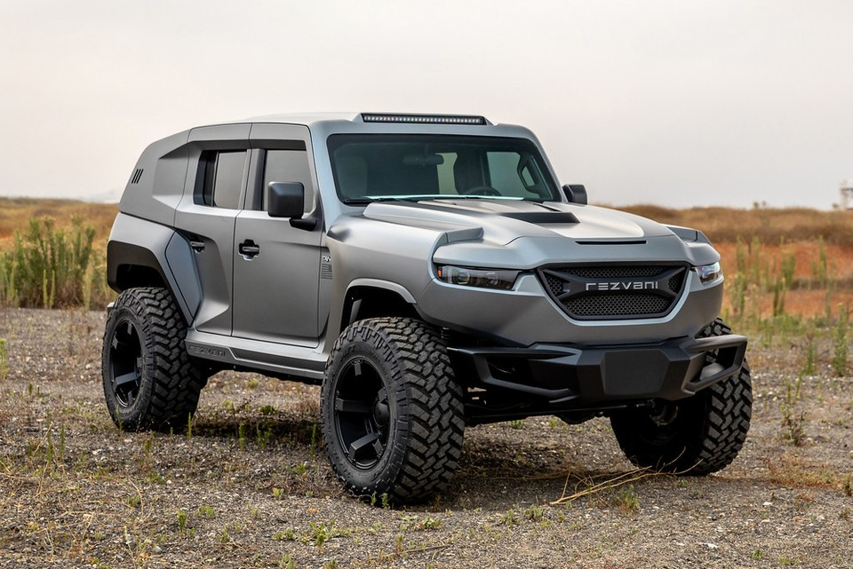 The 2020 Rezvani Tank Is the World's Most Powerful Production SUV