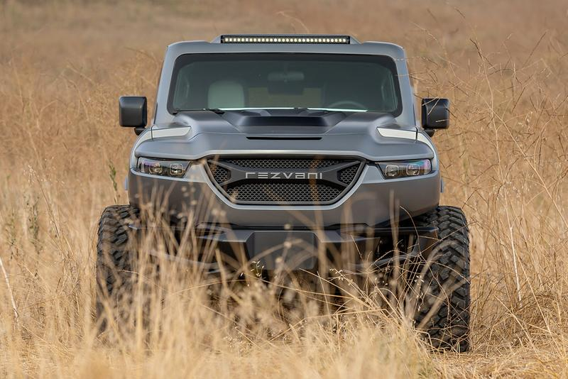 The 2020 Rezvani Tank Is the World's Most Powerful Production SUV military inspired emp thermal night vision 1000 horsepower 870 pound feet torque