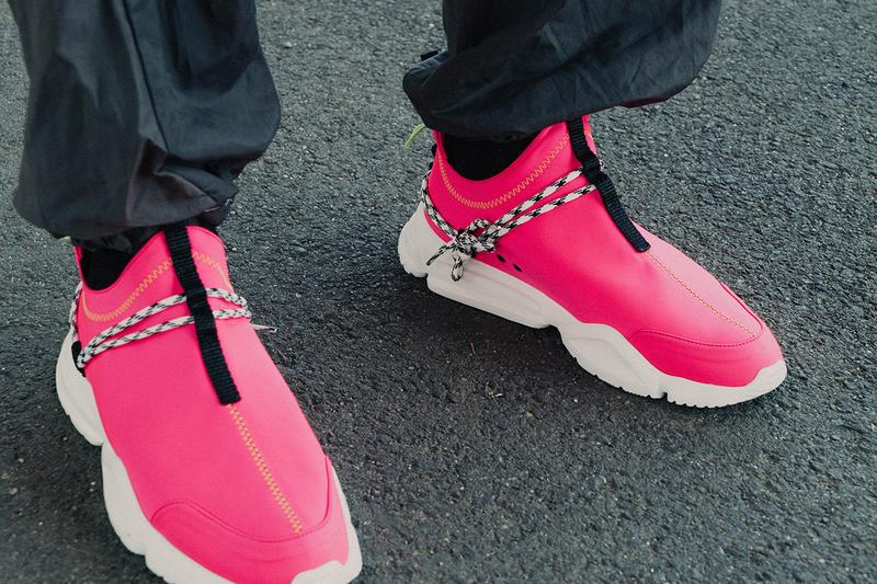 John Geiger 002 Low Highlighter Pack Sneaker Release Neon Pink Orange Lime