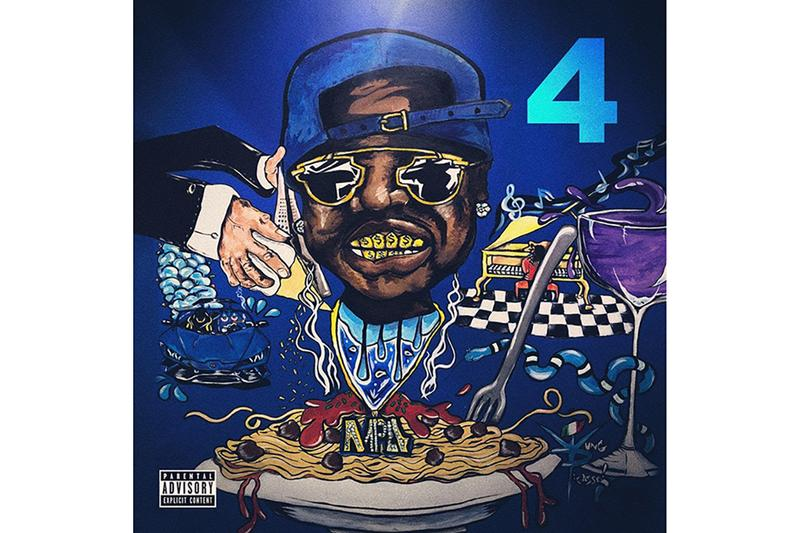 Peewee Longway Drops First Single Blue M&M 4 Mixtape Atlanta Emcee Trap Music Fiji Water