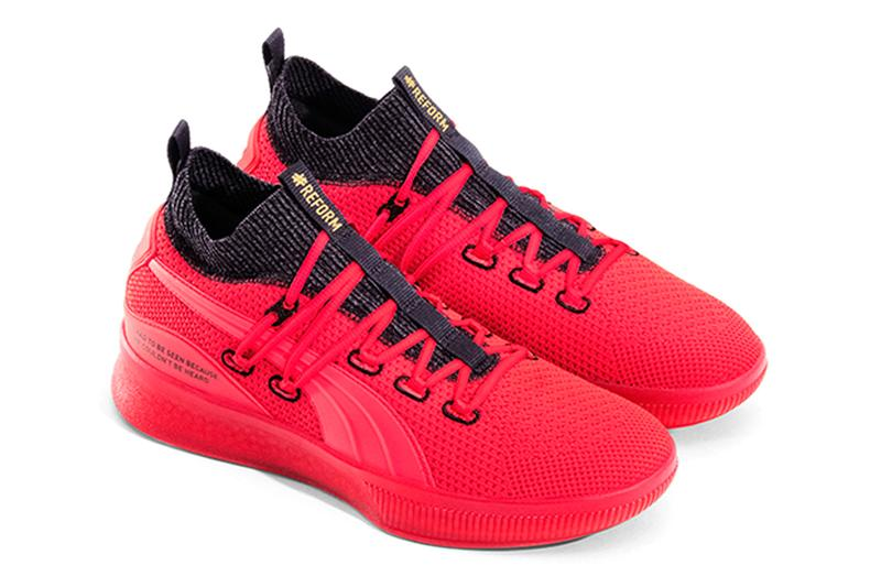 Puma Meek Mill Clyde Court #REFORM Drop Sneakers colorway collection alliance foundation charity free documentary amazon 193461_01