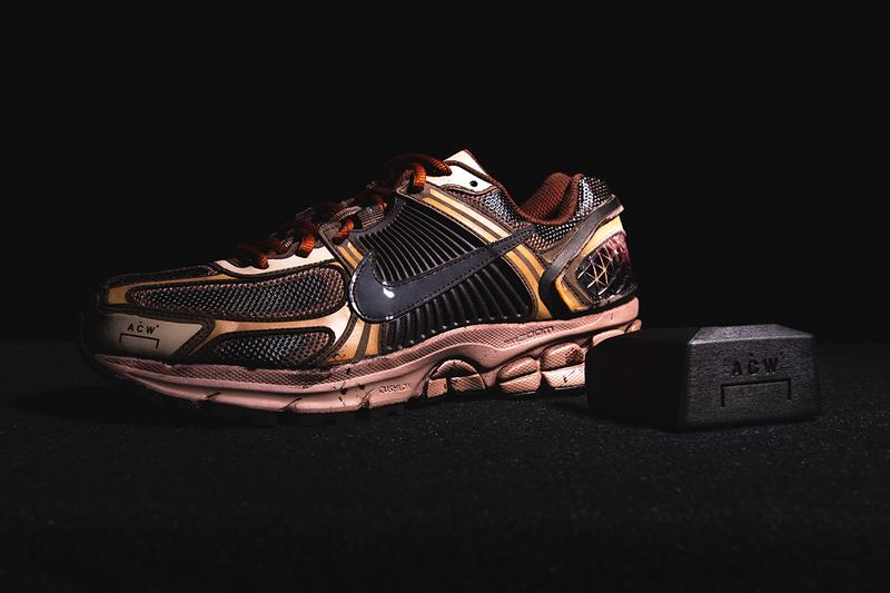 a-cold-wall a cold wall samuel ross nike zoom vomero +5 release information closer look solarised remove heel counter buy cop purchase london fashion streetwear