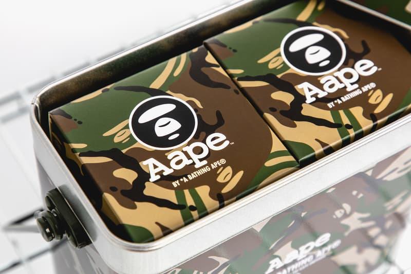AAPE Mooncakes & Baby Milo Lanterns Mid-Autumn special gifts aape by a bathing ape nicholas tse camping bape a bathing ape cookies