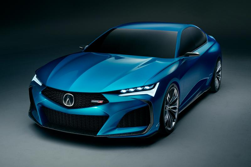 Acura Type S Concept Monterey Car Week Debut show automobile TLX performance motorsports