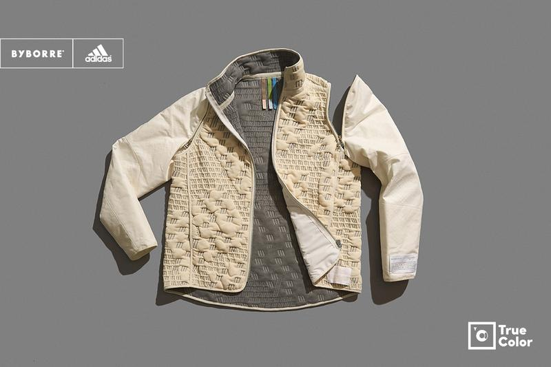 adidas BYBORRE TRUE COLOR GORE-TEX The Woolmark Company Riri, Nylstar Majocchi