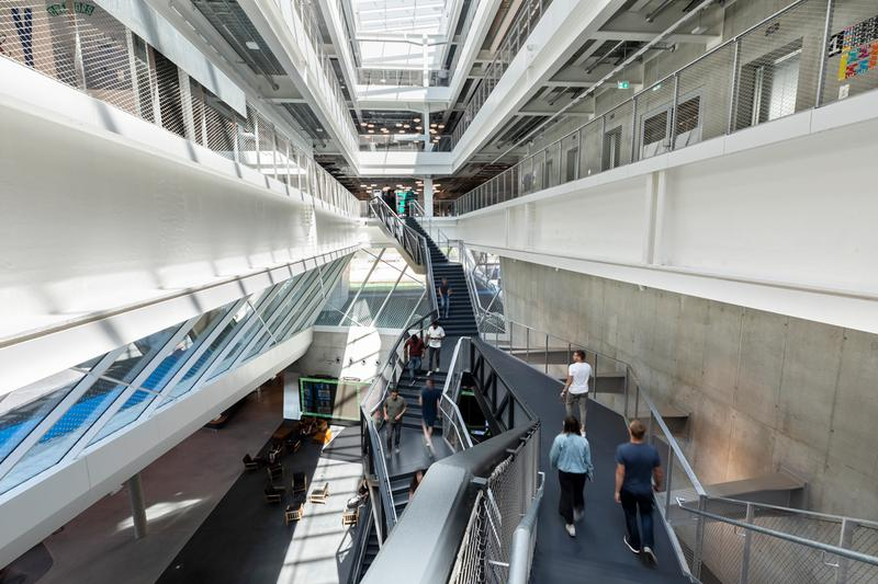 adidas headquarters herzogenaurach germany new arena building 70th anniversary celebration laces kasper rorsted ceo world of sports soccer stadium design interior inside look