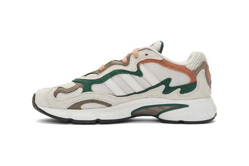 adidas Originals Temper Run Grey Orange White Grey Green Raw white/Crystal/Core black adiPRENE Technology Sneaker Release Information Retro Chunky Footwear Cop Online Three Stripes