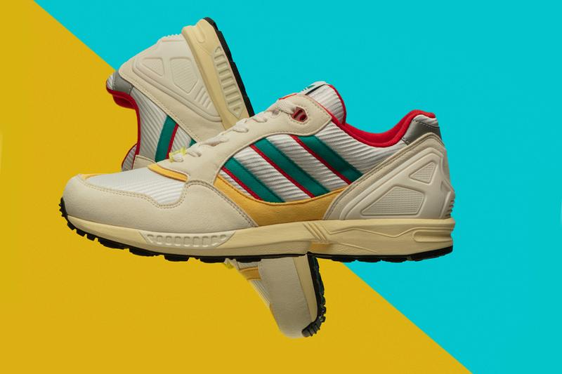 "adidas Originals ZX ""Thousands Pack"" 6000 Creme/Red/Yellow 7000 White/Lilac/Green 9000 Mint/Scarlet/Yellow 5000 Raw Crystal White Release Information Cop Online In Store Retro Torsion Three Stripes 90s 2000s Sneaker Old Revival  30 years"