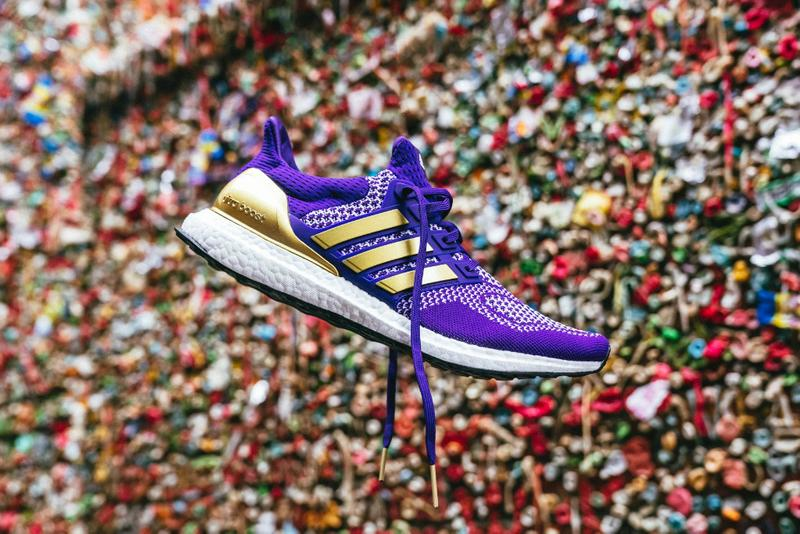 adidas Washington Huskies UltraBOOST 1.0 Info release date 2019 august pics picture pic pictures image images first look news details cost price shoe sneakers purple gold