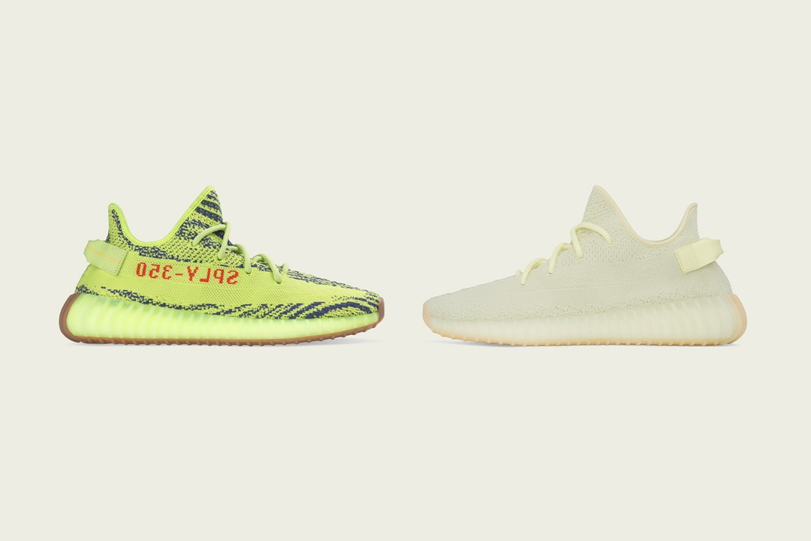 watch e89db 7dc40 adidas Restocks YEEZY BOOST 350 V2 Frozen Yellow & Butter ...