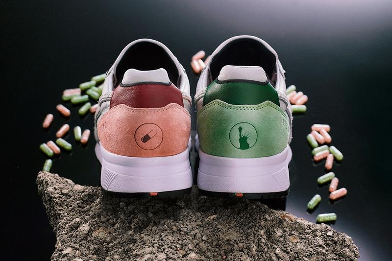"AFEW x Diadora ""Highly Addictive"" N.9000 Sneaker Release Information Cop Exclusive Rare Limited Edition SNS Sneakernstuff New York City NY Premium kangaroo leather upper made in Italy"