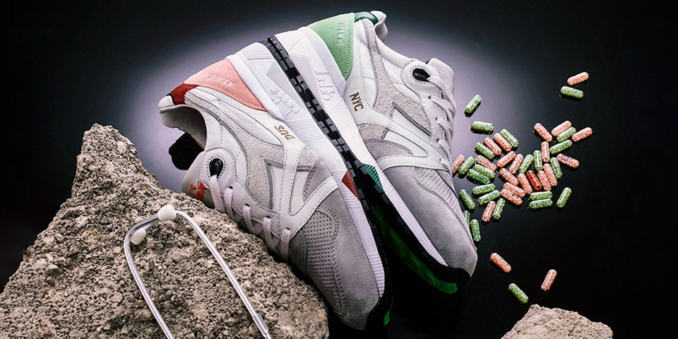 "AFEW & Diadora's N.9000 ""Highly Addictive"" Will Be Limited to Just 50 Pairs"