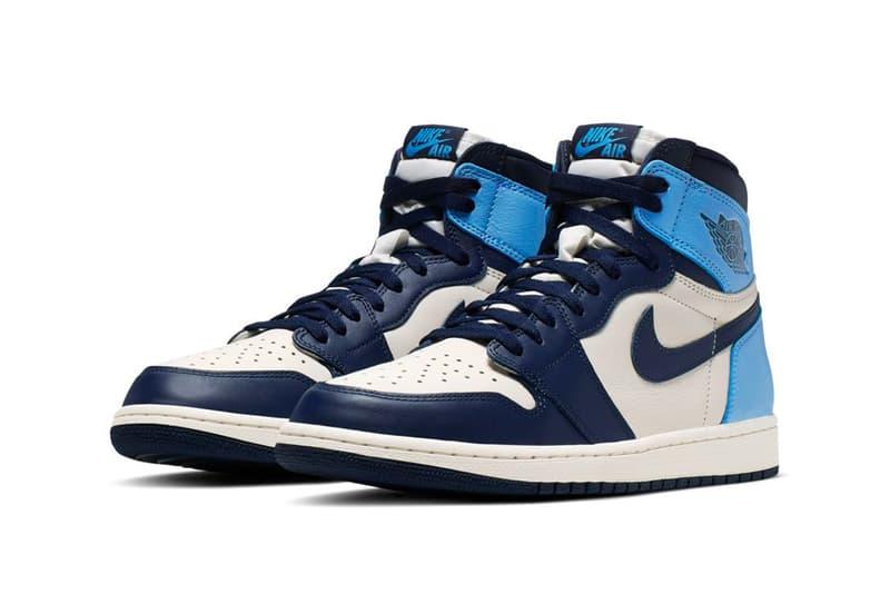 Air Jordan 1 Unc Obsidian Sneaker Release Hypebeast