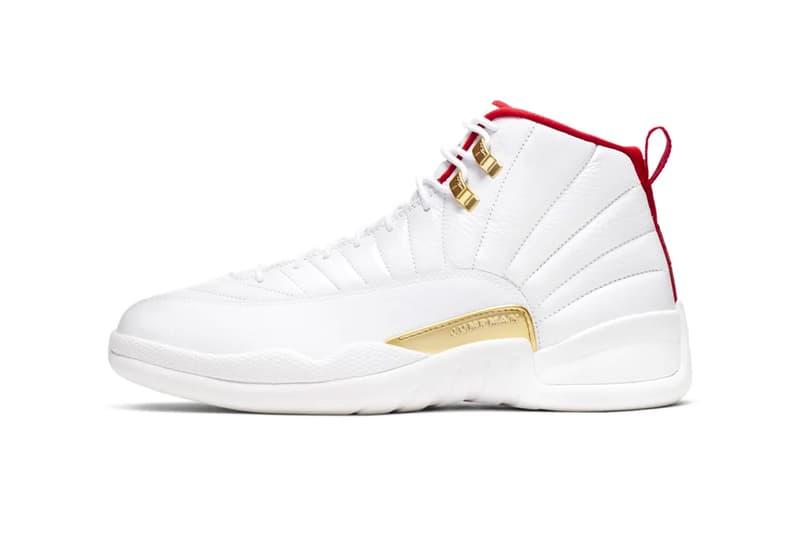 "Air Jordan 12 ""White/University Red"" sneaker where to buy price release Nike 2019"