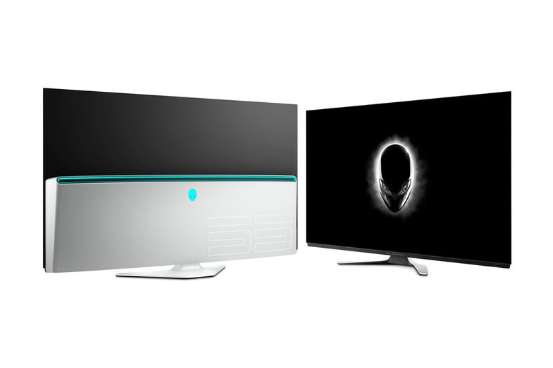 Alienware 55 Inch OLED 4K Gaming Monitor Release gaming video games PC Dell display screen