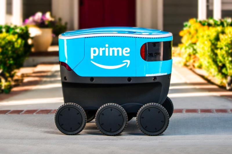 Amazon Begins Scout Bots Delivery Southern California
