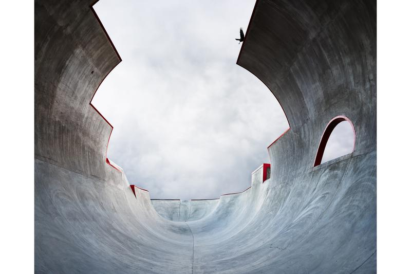 Photographer Amir Zaki Visual Survey Unique Skatepark Empty Vessel California Concrete a Landscape of Skateparks