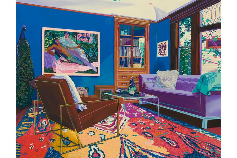 """Andy Dixon """"No Big Deal I Want More"""" Solo Exhibit Hong Kong Auction House Objects Paintings of Paintings Patron's Homes Vanitas Odalisque"""