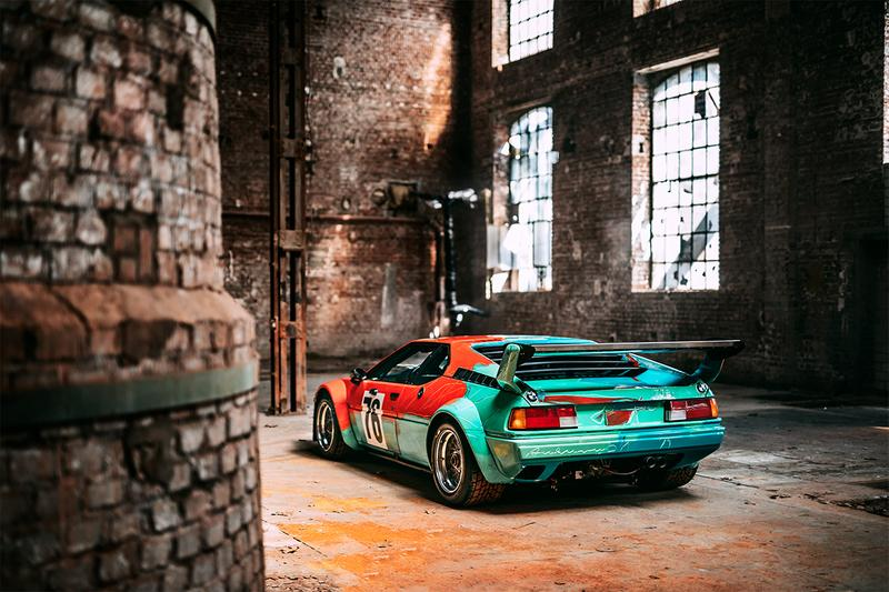 Andy Warhol BMW M1 Art Car Turns 40 BMW Group Classic Social Media Contest photography cars painting contemporary pop Stephan Bauer