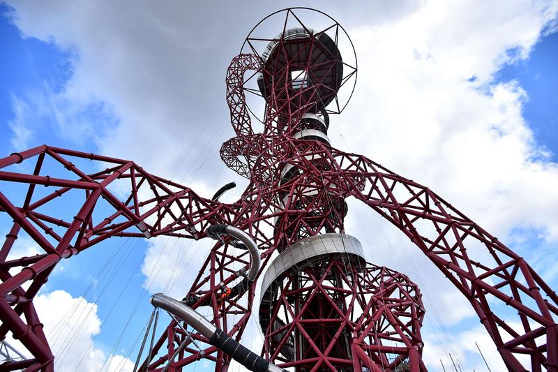 anish kapoor carsten holler worlds longest tunnel slide united kingdom london sculpture