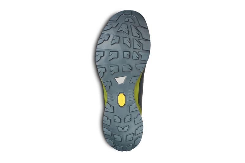 Arcteryx Norvan VT 2 NeptuneRobotica lugged vibram megagrip outsole TPU plates trail runner abrasion resistant film rand underfoot mesh nylon footwear sneakers