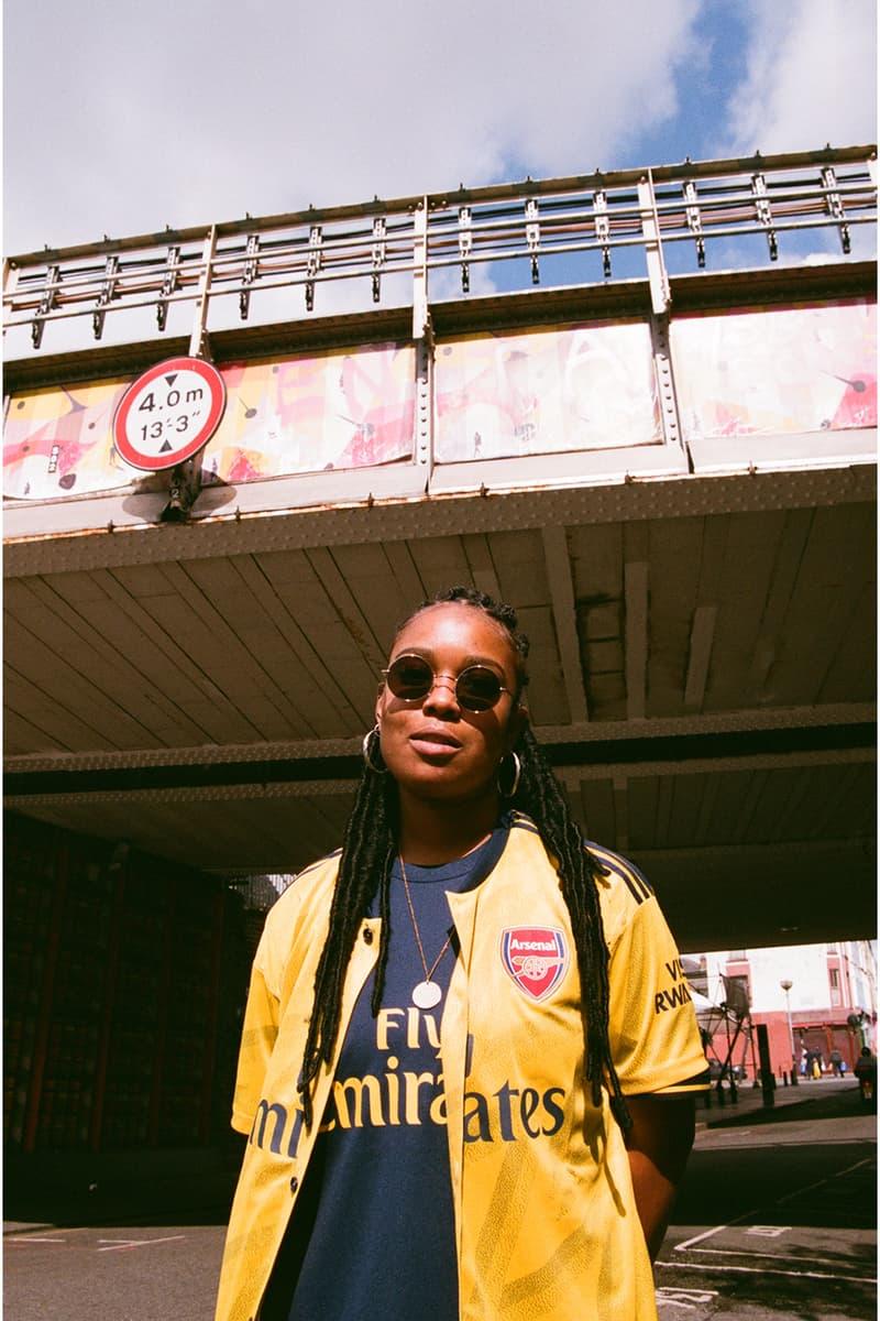 arsenal adidas bruised banana away jersey shirt kit 1990s 90s ian wright notting hill carnival yellow soccer football first look art of football