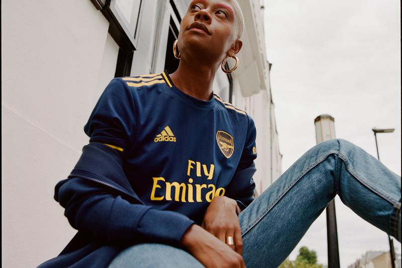 arsenal recycled plastic polyester adidas football club soccer premier league first weekend results first look order cop purchase europa league