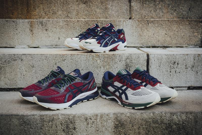 ASICS Academic Scholar gel kayano nimbus 21 26 5 og sneaker shoe sneakers shoes pack collection release info date cost price 2019 august