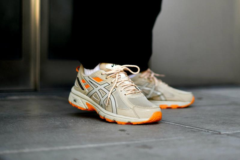 ASICS GEL Venture 6 Putty Release Info details shoes sneakers orange beige brown 2019 august fall winter buy cost where